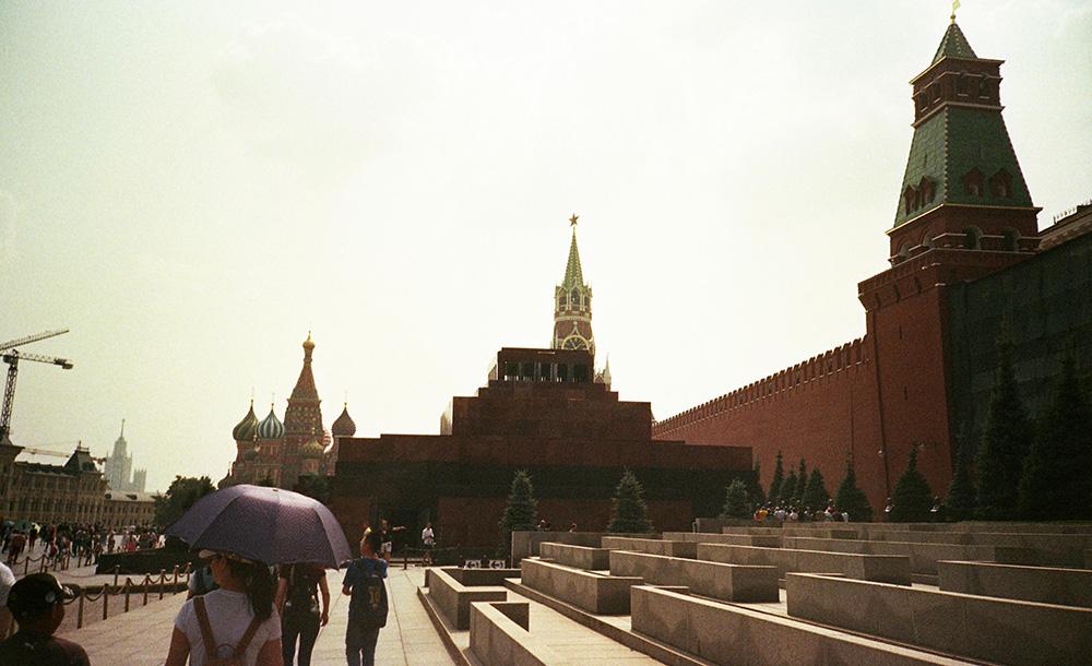 Plaza Roja, Moscú. Fuente: Emiliano Cabrera