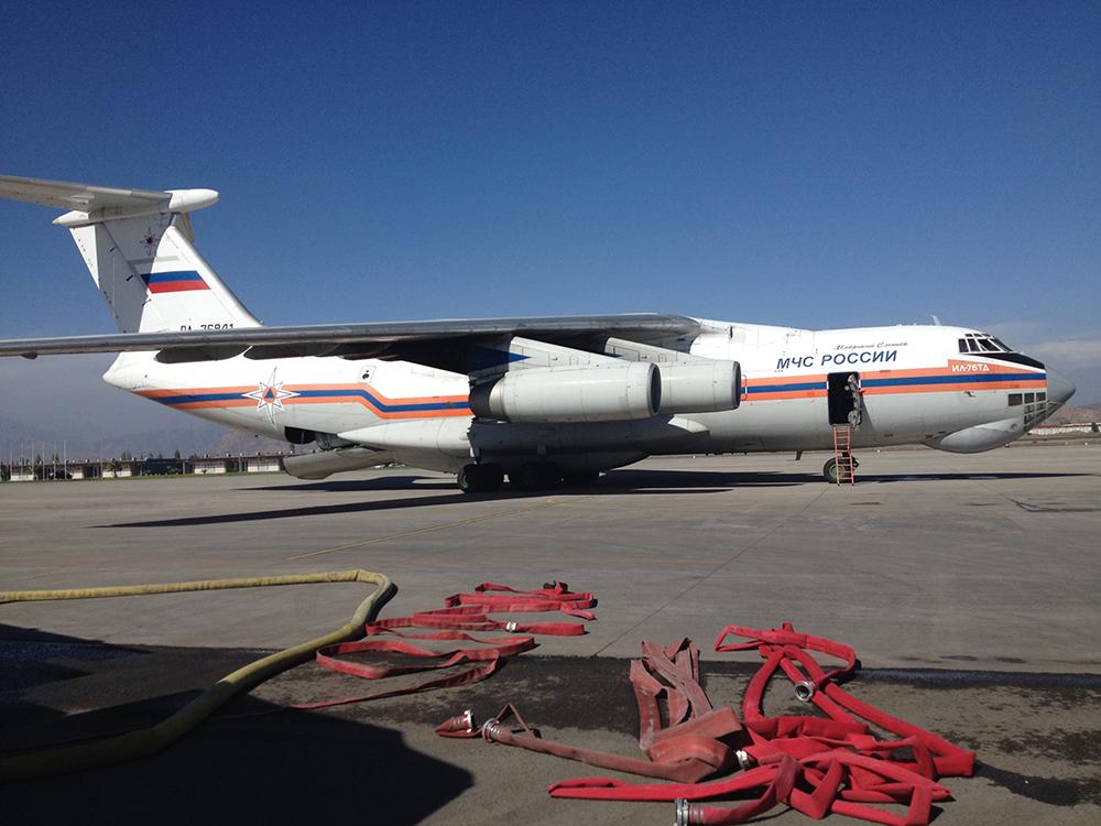 Ilyushin IL-76. Fuente: Francisco Sánchez Urra