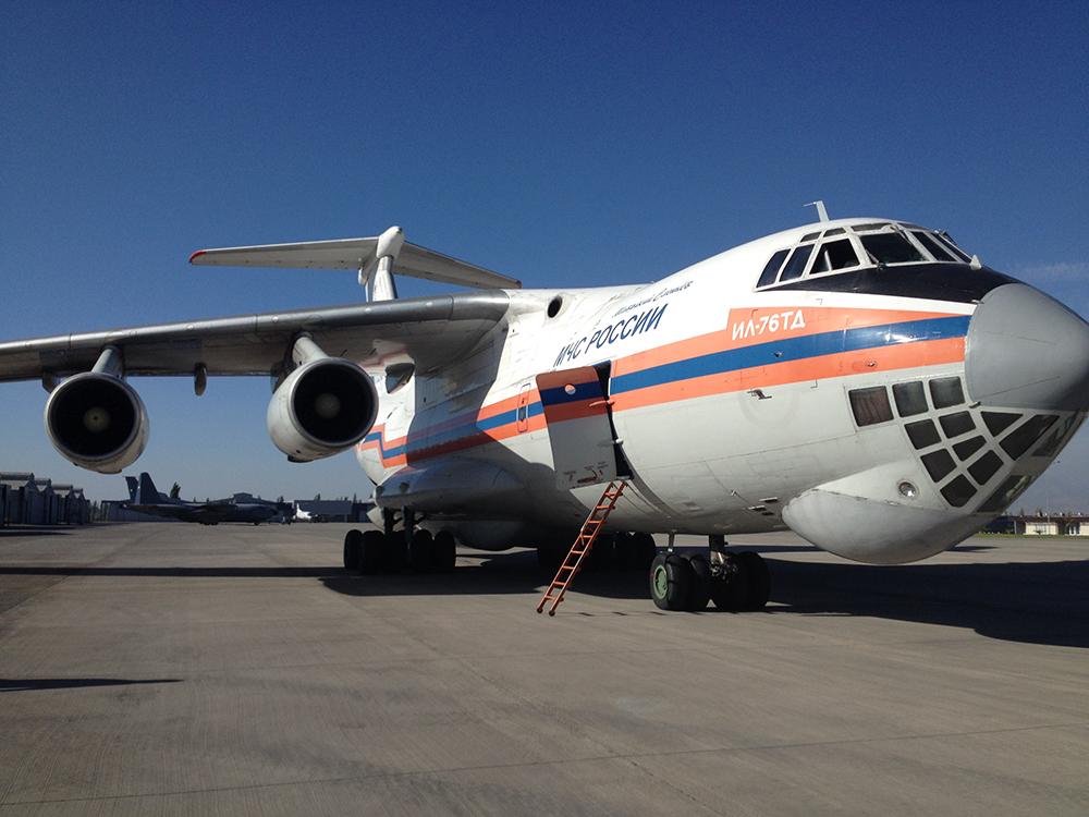 Ilyushin IL-76.