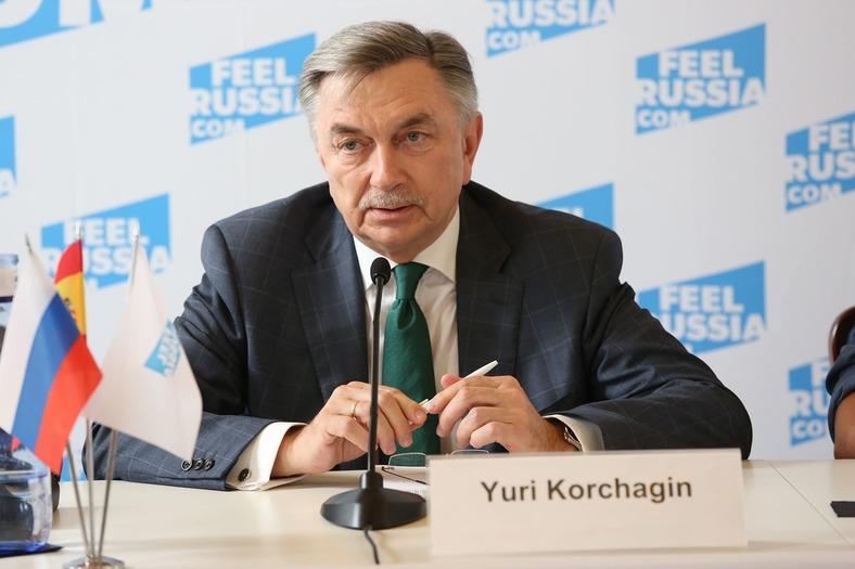El embajador de Rusia en España, Yuri Korchagin, presentó el evento Feel Russia. El festival estuvo organizado por el Ministerio de Cultura de Rusia con el apoyo del Ministerio de Asuntos Exteriores.