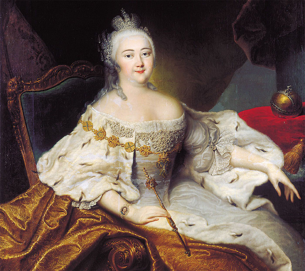Isabel I por Georg Christoph Grooth. Fuente: Wikipedia