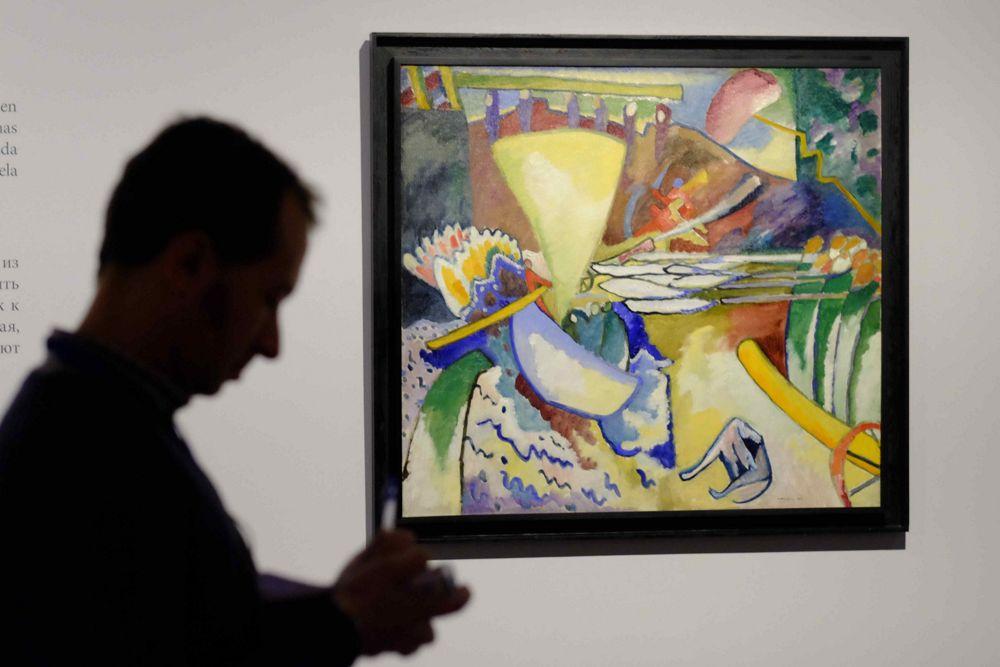 Y. V. Kandinsky, Improvisación n.º 11 (1910).Fuente:Servicio de prensa\n