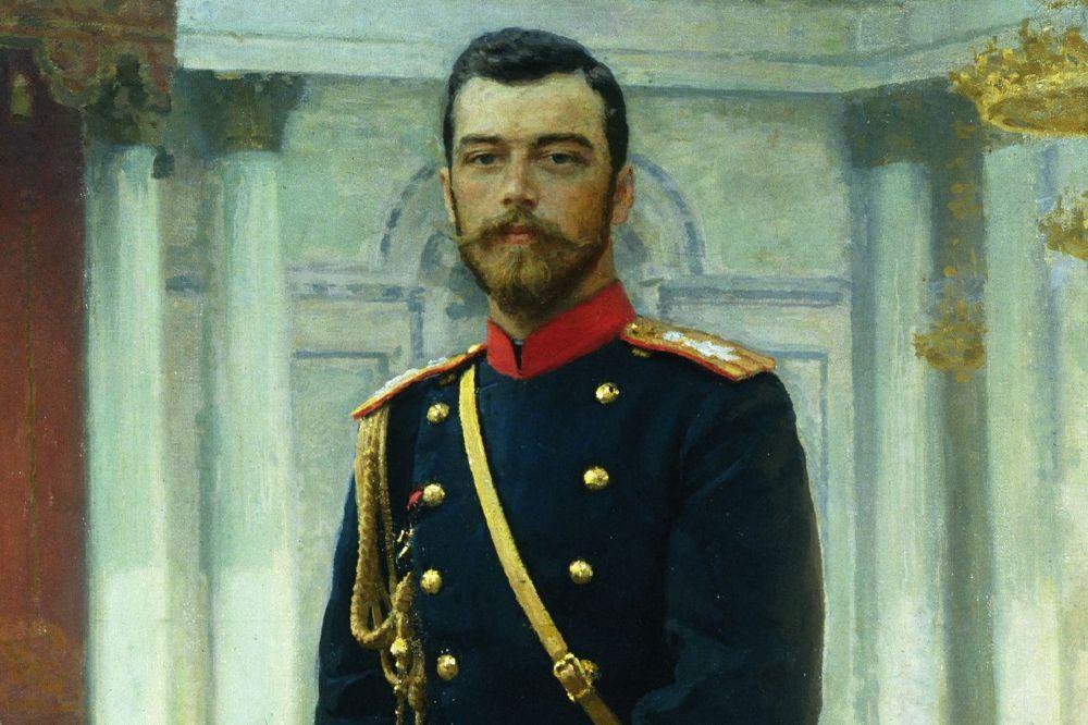 I. E. Repin. Retrato de Nicolás II (1896). Fuente: Servicio de prensa