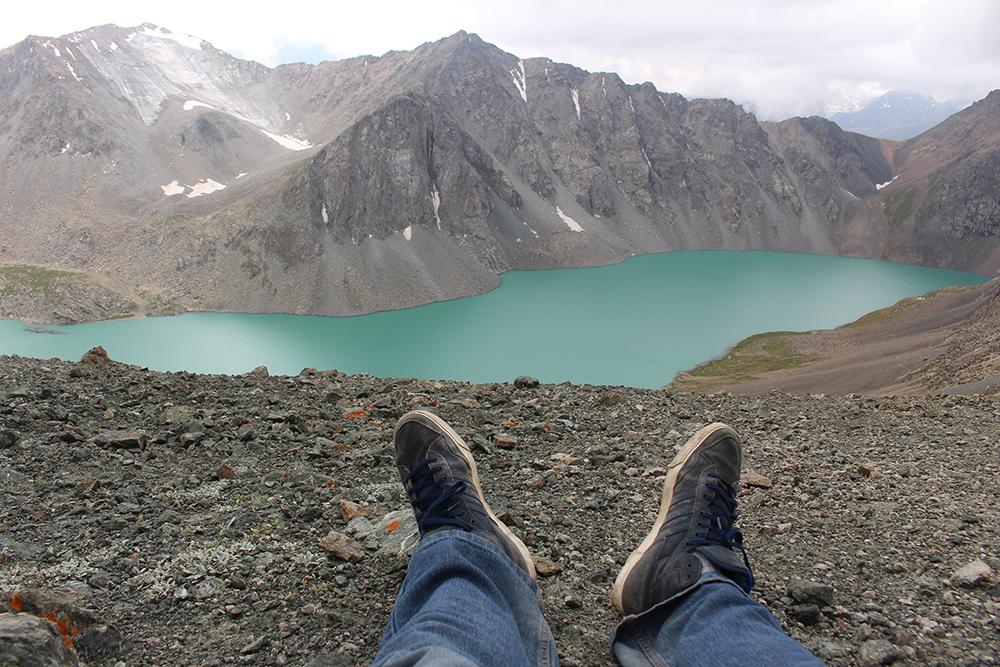 Lago Ala-Kul, Kirguistán. Fuente: Pablo Morales Andreau