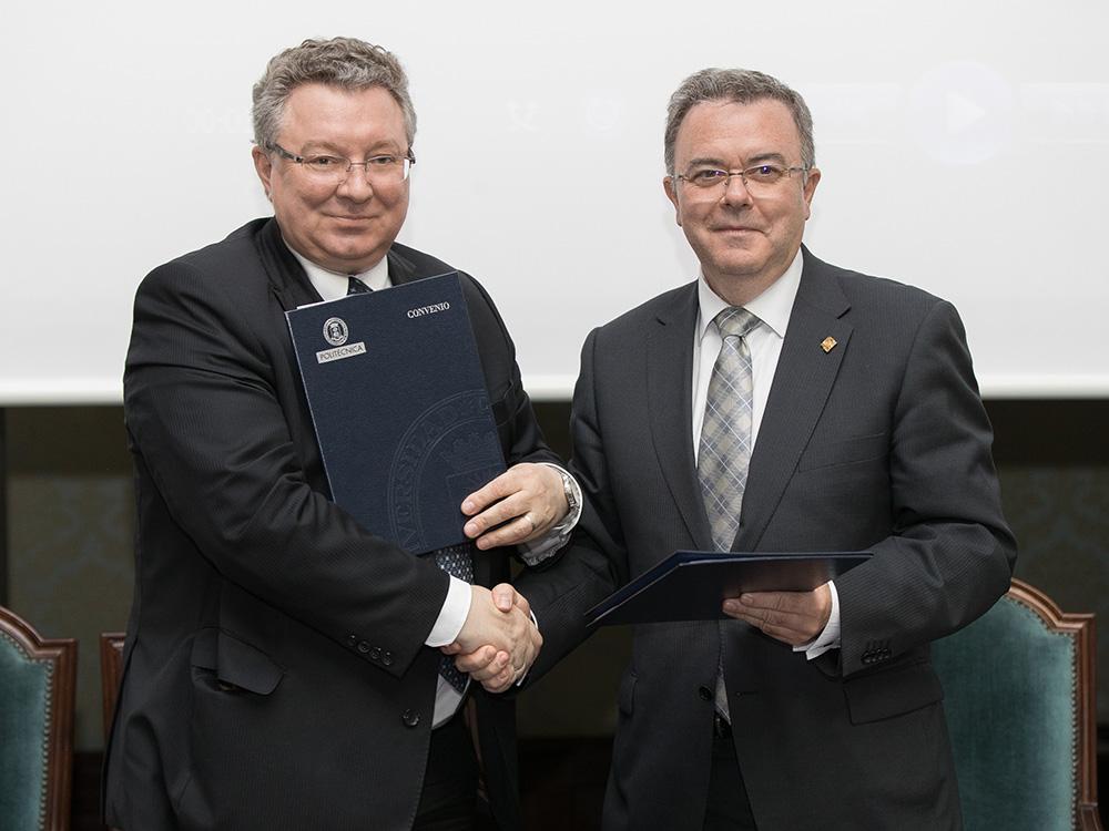 Andréi Rudskói y Guillermo Cisneros