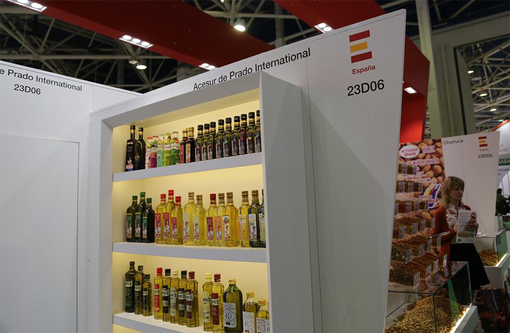 España sigue siendo líder en el suministro de aceite de oliva a Rusia. Fuente: Daria Ksenofóntova