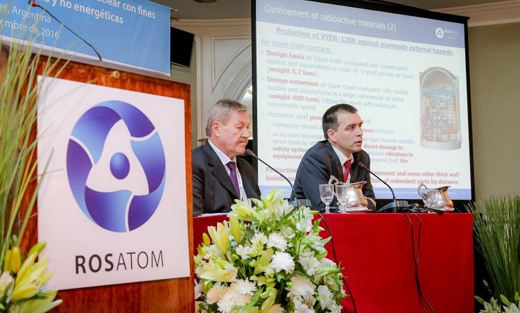 Momento del seminario de Rosatom celebrado en Argentina