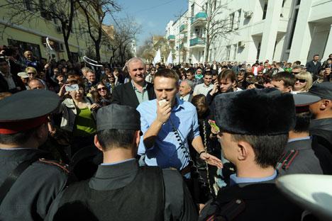 Los activistas aún no han anunciado el final de la huelga. Fuente: Itar Tass