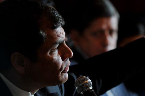 Rafael Correa. Fuente: AFP/ East News