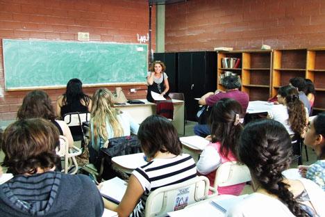 Asistentes al curso de literatura rusa en Buenos Aires. Fuente: Ana Nóvikova.