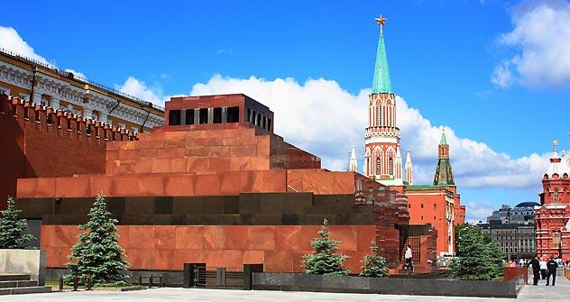 La mayoría de rusos quiere enterrar el cuerpo de Lenin. Fuente: Lori/ Legion Media