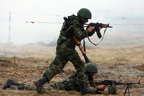 Rusia podría considerar la posibilidad de establecer compañías militares privadas. Fuente: Igor Zarembo/RIA Novosti