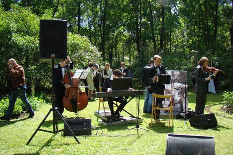 Actuación del grupo 'Solo Tango'. Fuente: servicio de prensa.