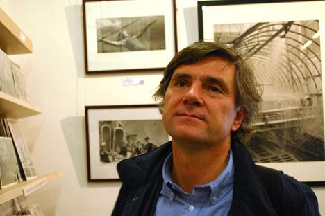 Rafael Llano, profesor de la Universidad Complutense y  uno de los mayores expertos sobre Tarkovski en España. Fuente: María Fadéeva.