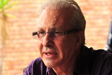Roberto Echavarren. Fuente: Marcelo López