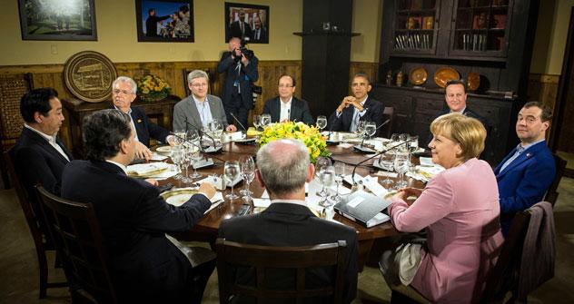 La mayoría de los líderes del G8 asiste a la cumbre de la OTAN, que se celebra en Chicago. Fuente: Reuters.