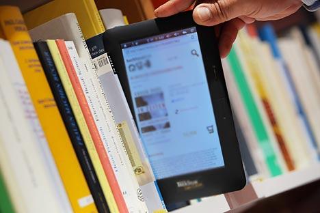 La descarga de textos electrónicos piratas es muy común en Rusia.Fuente: ITAR-TASS