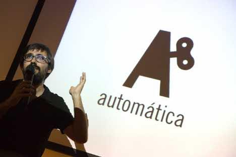 Presentación de la editorial Automática. Fuente: Ferran Mateo