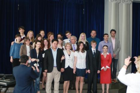 Alumnos de la última promoción del año. Fuente: Alex Pávlovich.