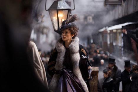 Última versión de Ana Karénina presentada en el cine del director Joe Wright.