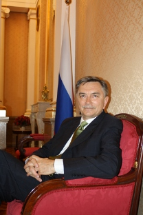 Yuri P. Korchagin, embajador de la Federación de Rusia en España. Fuente: Pablo León.