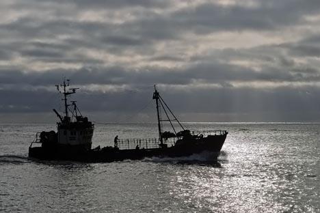 Barco pesquero. Fuente: www.arteyfotografia.com.ar