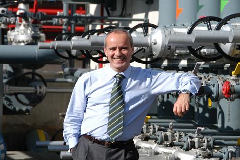 José Luis Porté, presidente de Meroil, la compañía petrolera que se ha asociado con Lukoil para su desembarco en España. Fuente: Maite Montroi.
