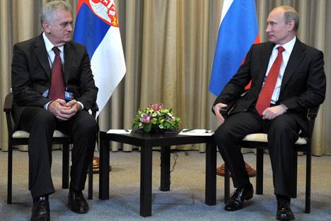 La historia de la amistad ruso serbia ahonda sus orígenes en la lucha por la independencia librada por los serbios a lo largo del siglo XIX. Fuente: AP.
