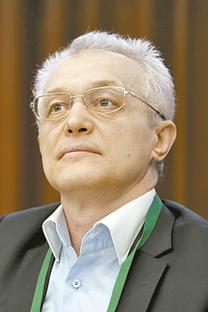 Serguéi Zhúkov, director del Complejo Tecnológico Espacial de Skólkovo. Fuente: Kommersant.