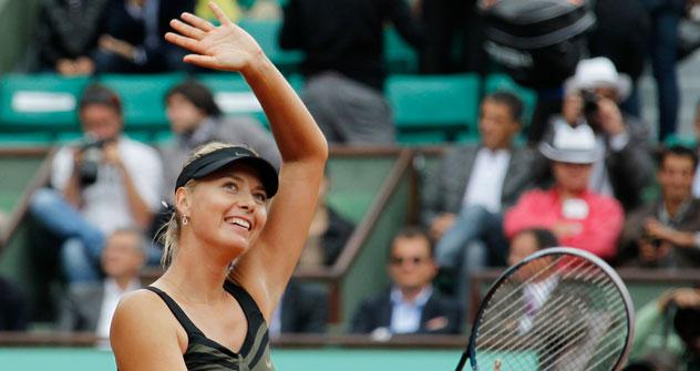La tenista Maria Sharapova. Fuente: NL Media