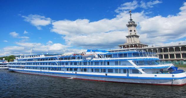 Hay numerosos cruceros por el Volga. Fuente: Vsevolod Pulia
