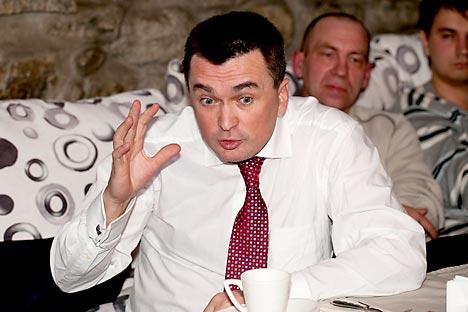 Vladimir Miklushevski, rector de la Universidad Federal del Lejano Este. Fuente: RIA Novosti.