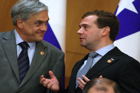 Las relaciones diplomáticas con Chile se refuerzan. Fuente: Reuters.