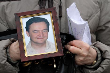La resolución titulada 'Estado de derecho en Rusia: el caso de Serguéi Magnitski', fue respaldada por la mayoría de los votos. Fuente: AP.