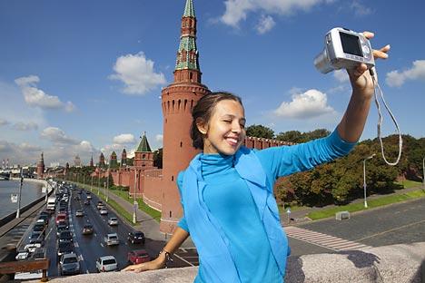 La Plaza Roja se prepara para acoger un centro de información turística donde se proporcionarán mapas de la ciudad e indicaciones útiles. Fuente: Getty Images/ Fotobank.