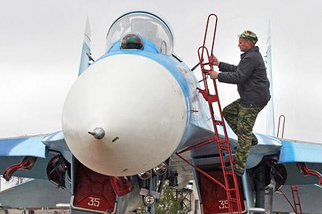 Principal tarefa do exercício consistiu em determinar o quanto as forças de plantão e os meios de defesa antiaérea são capazes de assegurar uma cobertura do espaço aéreo no oeste da Rússia Foto: PhotoXPress