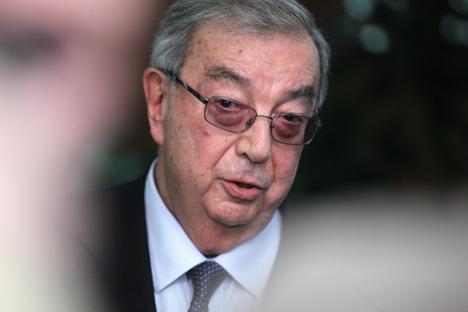 Evgueni Primakov, expresidente del Gobierno de Rusia y arabista. Fuente: Rosíyskaya Gazeta.
