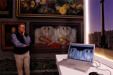 Las nuevas funciones del proyecto Google Art permiten a los usuarios recorrer cinco museos rusos desde cualquier lugar del mundo, sin abandonar la comodidad de su sofá. Fuente: Reuters/ Vostock-Photo.