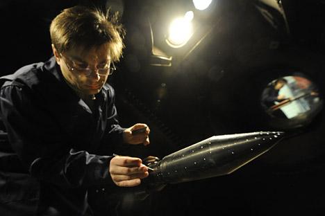 La capacidad de carga útil del nuevo cohete súper pesado será de 70 toneladas. Fuente: Itar Tass.