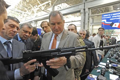 El modelo AK- 12. Fuente: Itar Tass.