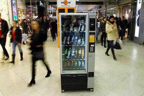 Los propietarios de la compañía Healthy Food quieren llevar una alimentación saludable hasta las oficinas. Fuente: Itar Tass.