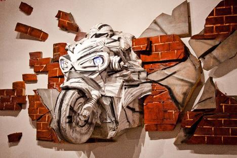 El Museo de Perm da a conocer a los artistas de Kazajistán . Fuente: Serguéi Shejovtso.
