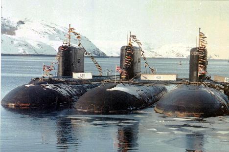 Los submarinos del proyecto 636.3. Fuente: ITAR-TASS