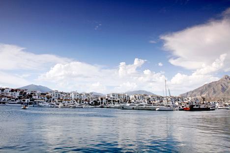 Puerto Banús en Marbella. Foto propiedad de Turespaña.
