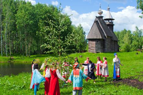 Imagen de la Rusia rural. Fuente: Lori/Legion Media.