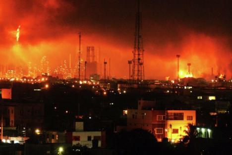 Putin expresa condolencias por la muerte de 39 personas en refinería venezolana. Fuente: Ria