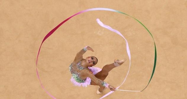 Eugenia Kanayeva, oro en gimnasia artística individual en la prueba combinada. Fuente: london2012.com