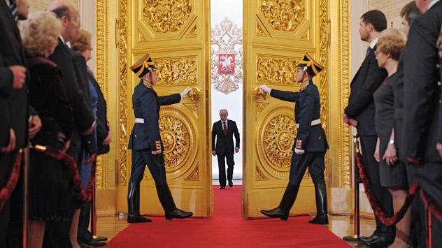 Vladímir Putin el día de la inauguración presidencial. Fuente: Reuters/ Vostock-Photo.