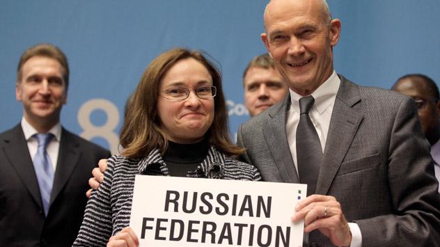 Rusia ha cerrado finalmente el capítulo para convertirse miembro de la OMC. Fuente: Reuters / Vostock Photo
