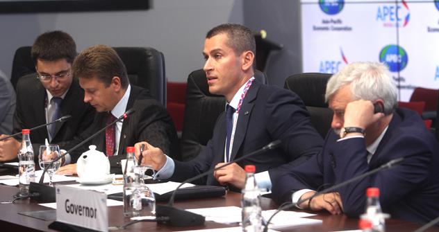 Falta algo menos de dos semanas para que dé comienzo la cumbre en Vladivostok. Fuente: RIA Novosti.